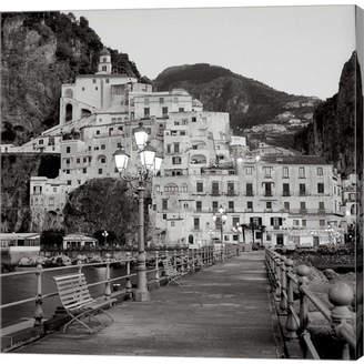 Amalfi by Rangoni Metaverse Pier I By Alan Blaustein Canvas Art