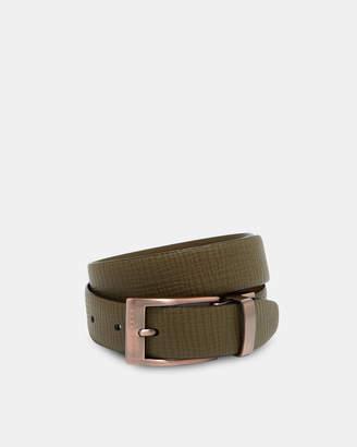 Ted Baker KONG Reversible buckle leather belt