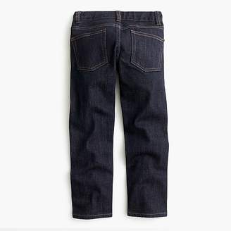 J.Crew Boys' rinse wash denim in slim fit