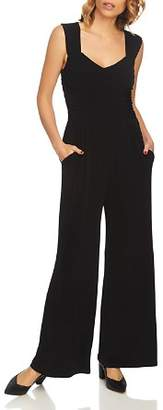 1 STATE 1.STATE Ruched Wide-Leg Jumpsuit