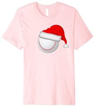 Christmas Santa Hat Baseball T-Shirt Shirt