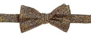 G Star COLLECTION Textured Silk Bow Tie