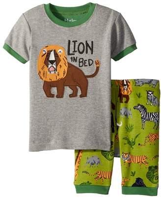 Hatley Safari Adventure Applique Shorts Set Boy's Active Sets