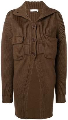 Chloé ribbed knit midi cardigan