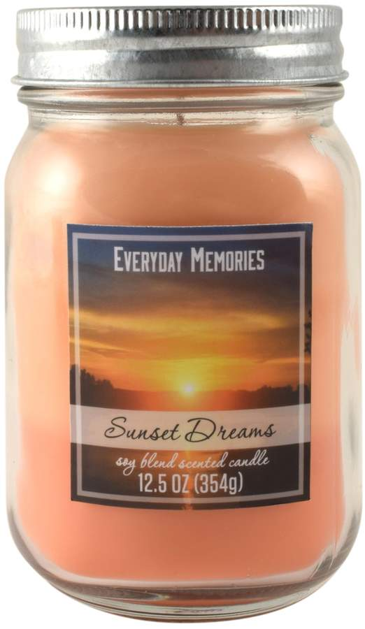 Everyday Memories Sunset Dreams 12.5-oz. Candle Jar