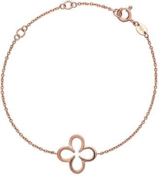 Links of London Rose Gold Vermeil Ascot Lucky Clover Bracelet