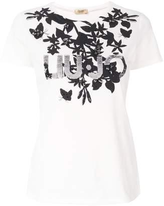 Liu Jo printed logo T-shirt