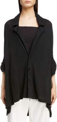 Yohji Yamamoto Y's by Linen Jersey Jacket