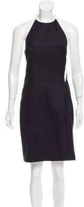 Paco Rabanne Wool Halter Dress w/ Tags