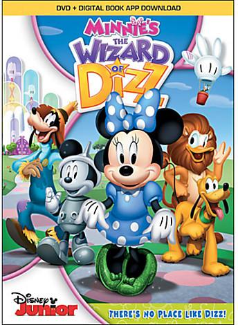Disney Minnie's The Wizard of Dizz DVD
