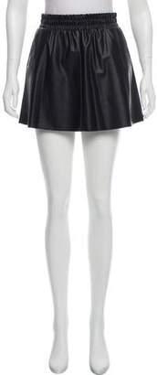 BCBGMAXAZRIA Gathered Mini Skirt