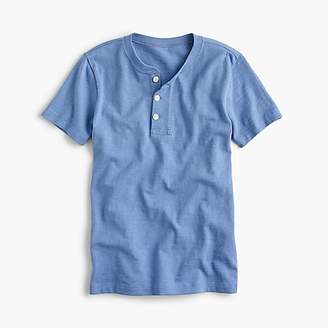 J.Crew Boys' short-sleeve henley shirt