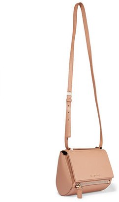 Givenchy - Pandora Box Shoulder Bag In Blush Textured-leather - Antique rose $1,790 thestylecure.com