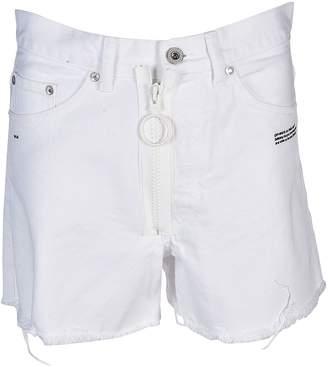 Off-White Off White Five Pockets Denim Shorts