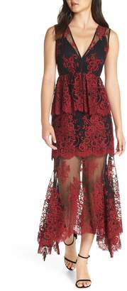 WAYF The Brooklyn Tiered Gown