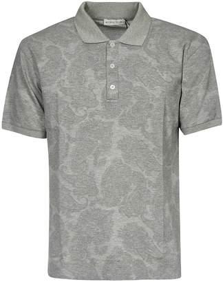 Etro Met Paisley Print Polo Shirt