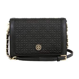 Tory Burch Bryant Ladies Small Quilted Combo Leather Crsbody Bag 18169684001