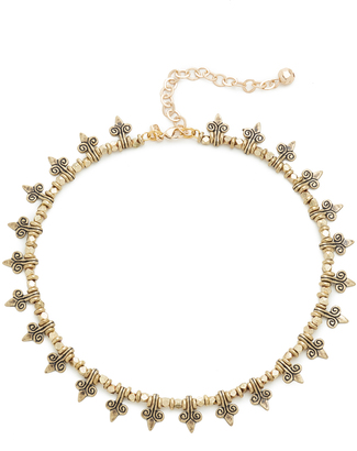 Vanessa Mooney The Collins Choker Necklace $138 thestylecure.com