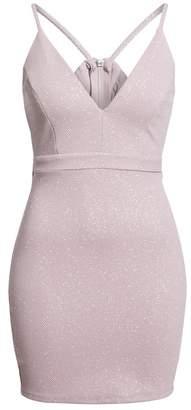 Love, Nickie Lew Cutout Back Bodycon Dress