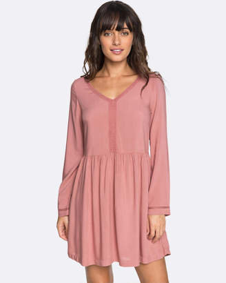 Roxy Womens Feel Alone Long Sleeved Dress