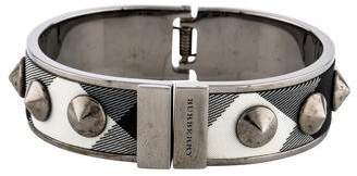 Burberry Studded Checked Cuff