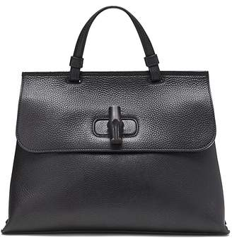 Banana Republic LUXE FINDS | Gucci Leather Large Bamboo Daily Bag