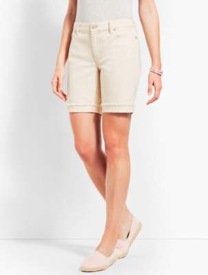 "Talbots 7"" Natural Denim Short"