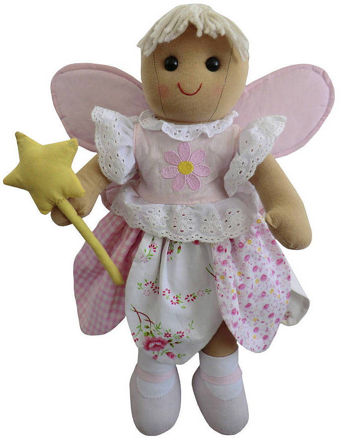 Little Ella James Angel Rag Doll With Wings And Wand