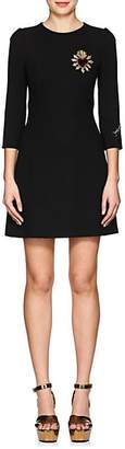 Dolce & Gabbana Women's Embellished Virgin Wool Sheath Dress - Black