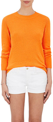 Barneys New York Women's Cashmere Crewneck Sweater $450 thestylecure.com