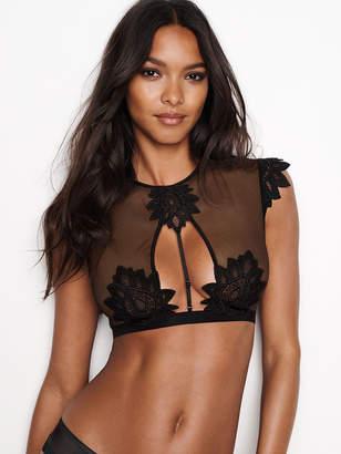 Very Sexy Lace Applique Bra Top