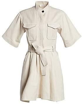 A.L.C. Women's Brynn Flared Cargo Shirtdress
