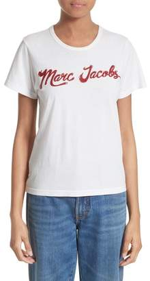 Marc Jacobs Lacquered Logo Tee