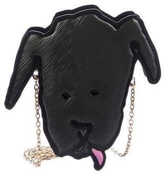 Louis Vuitton 2019 Epi Dog Face Grey 2019 Epi Dog Face