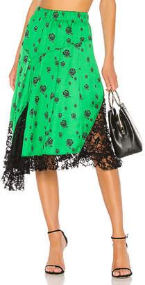 Kenzo Roses Midi Skirt