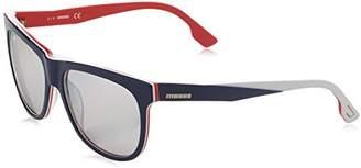 Diesel Men's Wayfarer Eye Sunglasses,56