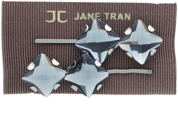 Jane Tran Rhinestone Bobby Pin Set 1 set