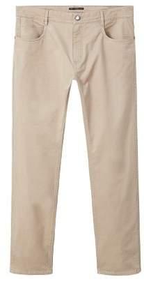 Mango man MANGO MAN Slim-fit 5 pocket cotton trousers