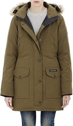 Canada Goose Women's Fur-Trimmed Trillium Parka $900 thestylecure.com