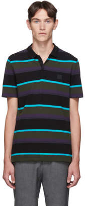 BOSS Black Striped Polo