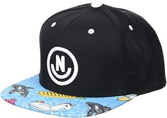 Neff Men's Daily Smile Pattern Snapback Hats-Custom Adjustable