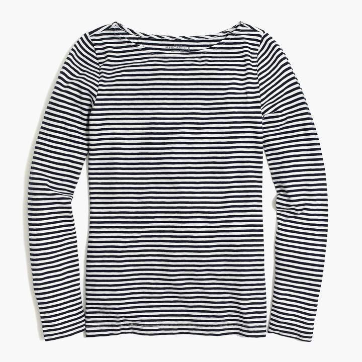 J.Crew Long-sleeve striped artist T-shirt