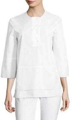 Piazza Sempione Optical Cotton Tunic