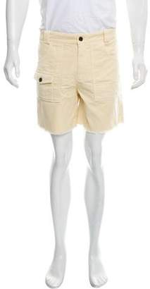 Band Of Outsiders Raw-Edge Corduroy Shorts