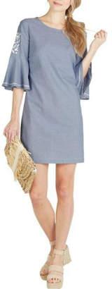 Mud Pie Michele Chambray Dress