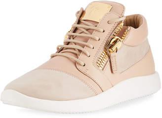 Giuseppe Zanotti Leather/Suede Platform Sneakers