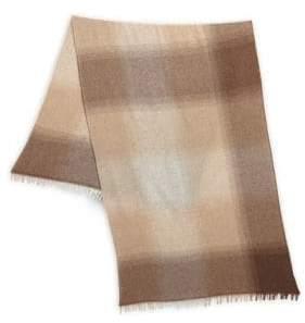 Brunello Cucinelli Wool& Cashmere Bi-Fold Scarf