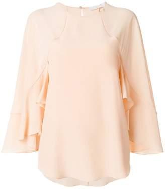 Chloé ruffle sleeved blouse