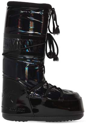 Iridescent Snow Boots