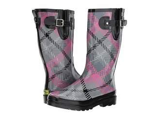 Western Chief Playful Plaid Women's Rain Boots